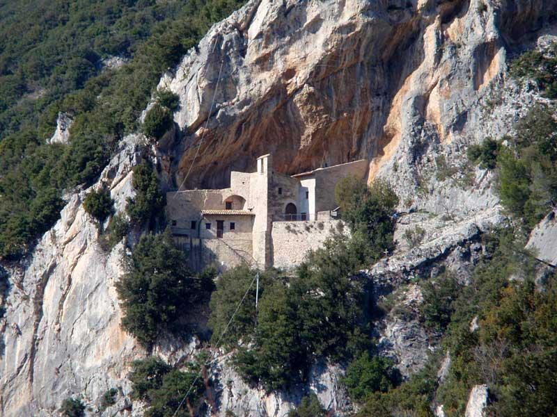 L'eremo di Santa Maria Giacobbe - Pale di Foligno